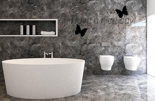 Muurstickers voor in de badkamer - muurstickers-webshop