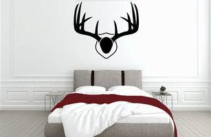 Muursticker slaapkamer gewei